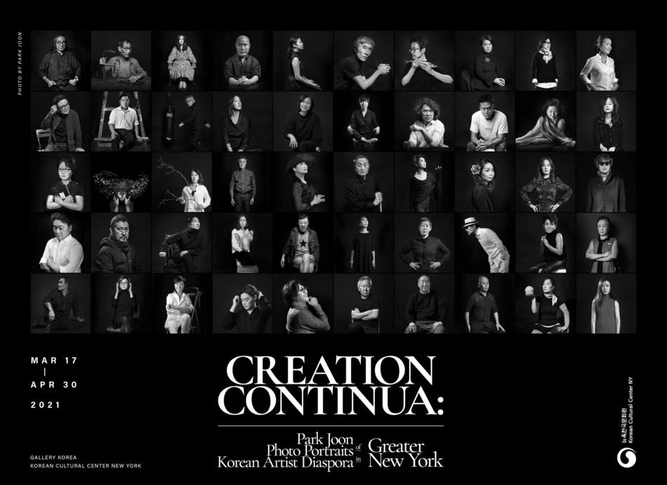 CREATION CONTINUA - Park Joon Photo Portraits of Korean Artist Diaspora in Greater New York