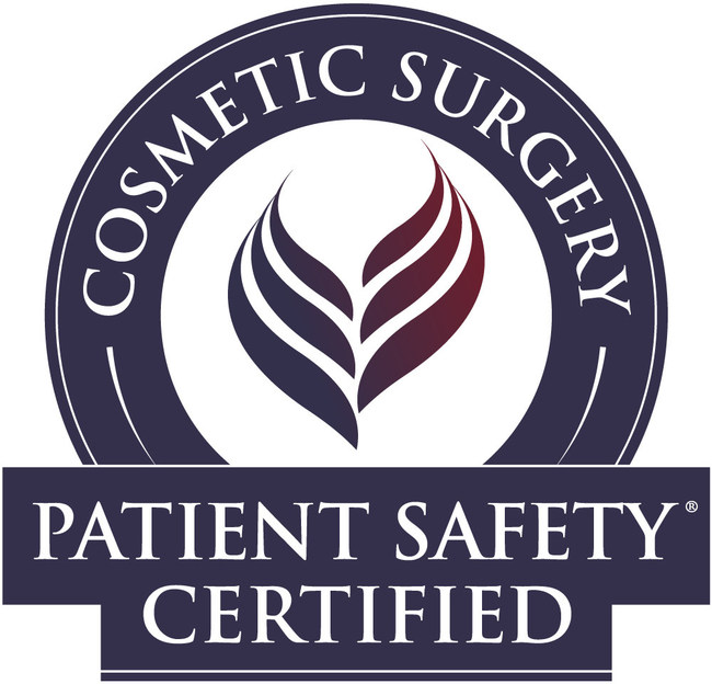 Cosmetic Surgery Patient Safety® certification signals to patients that their board certified cosmetic surgeon puts their safety first.
