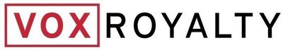 Vox Royalty Corp. Logo (CNW Group/Vox Royalty Corp.)