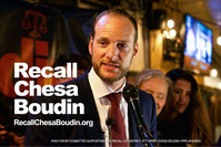 The Committee to Recall San Francisco District Attorney Chesa Boudin launches online petition Friday March 12th 2021