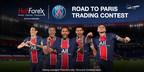 HotForex starts the Road to Paris trading contest