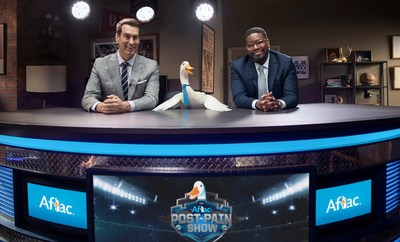 Rob Riggle, the Aflac Duck and Lil Rel Howery bring laughs in Aflac's new campaign.