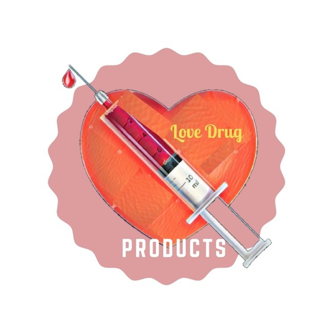 "Company Logo: Love Drug Products ""My love is your drug."" www.lovedrugproducts.com"