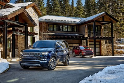 All-new 2022 Wagoneer and Grand Wagoneer: A Premium American Icon Is Reborn as the New Standard of Sophistication, Authenticity and Modern Mobility