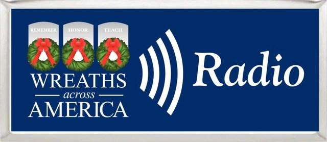 Listen live 24/7 at www.wreathsacrossamerica.org/radio (PRNewsfoto/Wreaths Across America)
