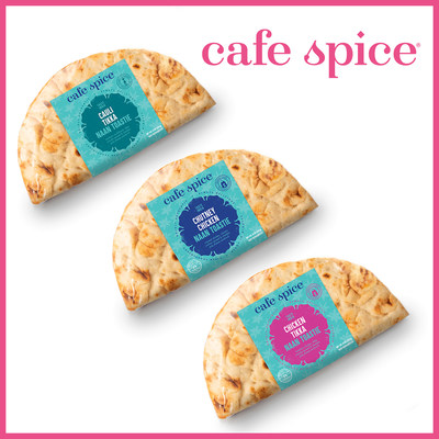 Cafe Spice Naan Toasties