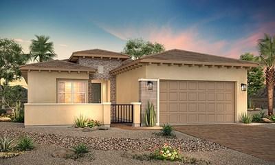 Rendering of new home at Skye Mesa   Skye Canyon in Las Vegas, NV   Century Communities