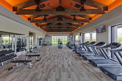 Fitness center at Skye Canyon in Las Vegas, NV   Century Communities