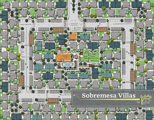 Community Plan for Sobremesa Villas in Surprise, Arizona by Isola Communities