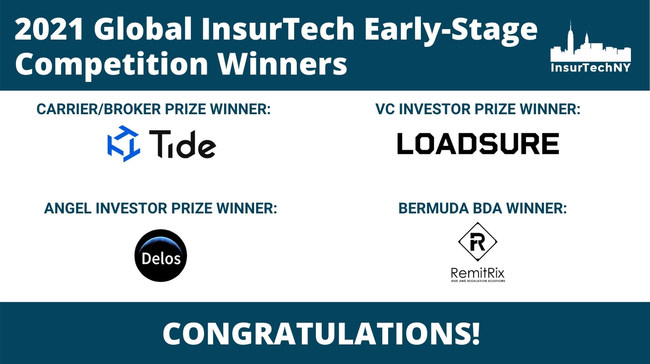 Global InsurTech Early-Stage Competition Winner