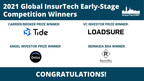 InsurTech NY Announces Global Early-Stage Competition Winners...