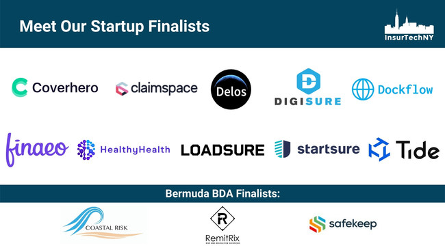 InsurTech Competition Finalists