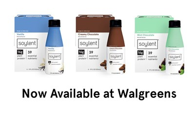 Beyond the ability to purchase in-store, Soylent will also be showcasing a new 11 oz format of their popular Complete Meal Shake, which has the same nutritionally complete formula, but with fewer calories and only 1g of sugar. This new option will be available in 4-packs and will give consumers even more options when it comes to their Soylent consumption.