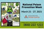 Washington Poison Center Announces 2021 Poison Prevention Poster Contest Winner