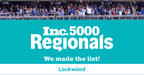 Lockwood Ranks No. 115 on Inc. Magazine's List of the Fastest Growing Private Companies in the New York Metro Region