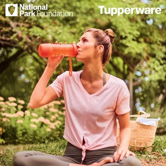 Tupperware Brands Supports National Park Foundation in the Diversion of Nearly 10 Million Single-Use Plastic Bottles from Landfills Annually