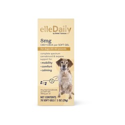 """ElleVet Sciences clinically-proven pet CBD+CBDA announces new retail product line """"ellePet."""" Available for all size dogs, """"elleDaily"""" for overall wellness."""