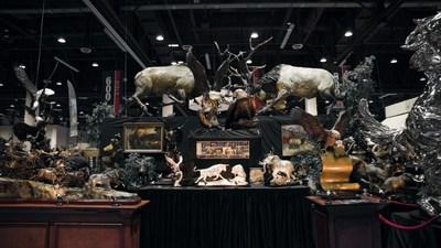 Safari Club International Booth Treasure Investments Corp & Foundry Michelangelo 2020