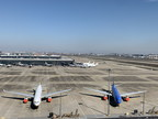 Grounded fleet size of China Eastern Airlines reduced to zero at Shanghai base
