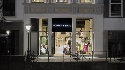 Scotch & Soda Utrecht Oudegracht Store (The Netherlands) Façade (PRNewsfoto/Scotch & Soda)