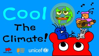 CoolTheClimate! is a 30 minute short film for kids in time for Earth Day. Kids can stream for free thru Thursday, April 22, 2021.
