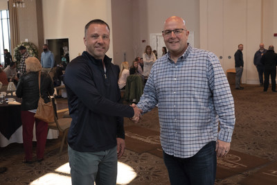 Left: B.J. Werzyn, President, CEO, and Founder of West Shore Home and Greg Herling, owner of Herl's Bath and Home Solutions Inc.