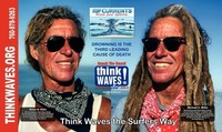 Think Waves the Surfers Way: Giant Wave Surfers explain how to escape rip currents the Surfers Way
