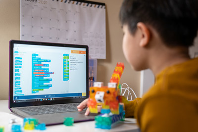The virtual Summer Camp program will utilize KOOV – Sony's all-in-one coding, robotics and design kit that combines digital coding with physical building to teach the next generation of innovators.