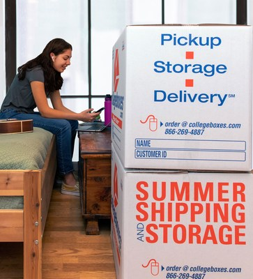To promote safe distancing and shrink foot traffic at campus housing facilities when the spring term ends, Collegeboxes, a division of U-Haul, is announcing two discount codes for students who proactively secure storage and shipping services.