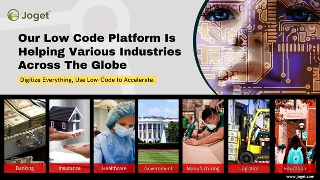 Joget - Open Source Low Code Platform for Digital Transformation.