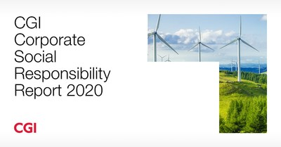 CGI Corporate Social Responsibility Report 2020 (CNW Group/CGI Inc.)