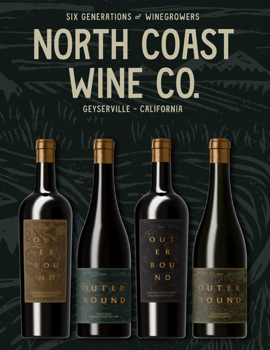Outerbound Wines by North Coast Wine Company are set to release 4/1/21 in select markets. All wines available online at northcoastwine.com.