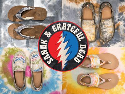 Sanuk x Grateful Dead Spring 2021 Collection