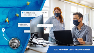 Autodesk U.S. Construction Outlook 2021 Report Finds Commercial Bidding Activity Has Surpassed Pre-Pandemic Levels