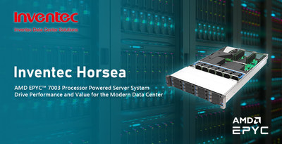 Inventec Horsea AMD EPYC™ 7003 Processors Powered Server System
