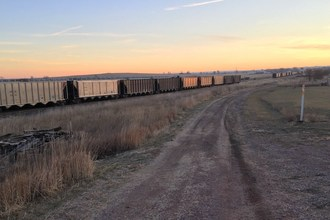 The developing Cowboy Trail Connection in Chadron, Nebraska, part of the preferred route of the Great American Rail-Trail, was one of 11 projects awarded a Rails-to-Trails Conservancy Grant on March 16, 2021. Photo courtesy Rails-to-Trails Conservancy.