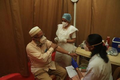 COVID-19 Vaccination Drive for Senior Citizens at Saifee Hospital