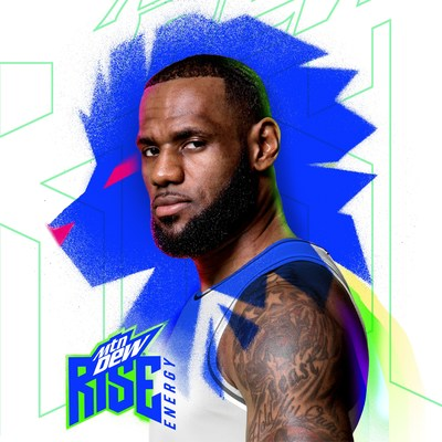 PepsiCo Partners with Global Icon LeBron James to Launch MTN DEW RISE ENERGY drink