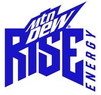 MTN DEW RISE ENERGY Logo