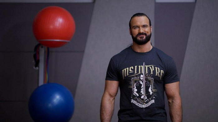 WWE Superstar Drew McIntyre leads a virtual workout in the brand-new Special Olympics School of Strength: Class is Now in Session made for all ability levels.