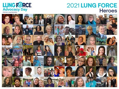Today, LUNG FORCE Heroes — those personally impacted by lung cancer — from across the country joined together virtually to participate in the American Lung Association's annual LUNG FORCE Advocacy Day event.