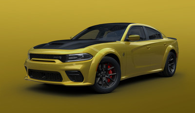 Dodge extends Gold Rush paint color to performance Charger models.