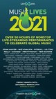 LiveXLive's Annual Global Streaming Music Festival Music Lives 2021 Returns With Over 100 Artists And Over 50 Hours Of Non-Stop Music On March 26-27, 2021