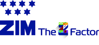 Zim Integrated Shipping Services Ltd Logo (PRNewsfoto/Zim Integrated Shipping Services Ltd)