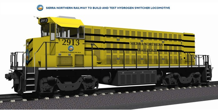 The California Energy Commission to award Sierra Northern Railway and GTI nearly $4,000,000 to fund the design, integration, and demonstration of a hydrogen fuel cell switching locomotive. The funds will be used to retire a tier 0 diesel locomotive and to replace it with a zero-emission switching locomotive using advanced hydrogen technology. The project involves the integration of advanced hydrogen fuel cell, hydrogen storage, advanced battery and systems control technologies.