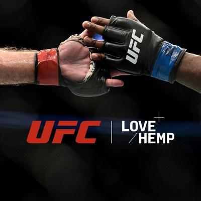 UFC NAMES LOVE HEMP OFFICIAL GLOBAL CBD PARTNER