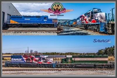 Aberdeen Carolina & Western Railay and Savage Servies Continued Partnership.