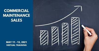 BDR's Commercial Maintenance Sales virtual workshop, scheduled for May 11-13, helps HVAC professionals identify and analyze the impact of commercial maintenance agreements on short- and long-term revenue growth.
