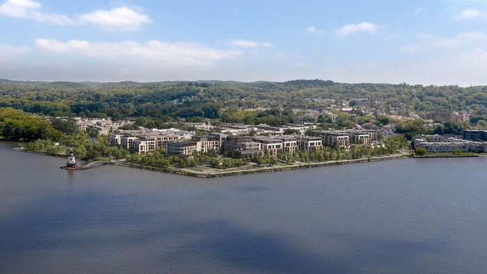 Artist's Rendering: Edge-on-Hudson, Sleepy Hollow NY