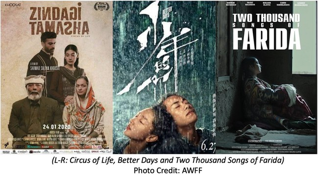 "The Asian World Film Festival announces winners ""Circus of Life,"" Better Days"" and ""Two Thousand Songs of Farida"""